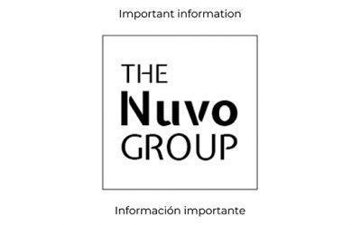Información importante de TheNuvoGroup